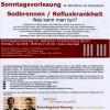 Sonntagsvorlesung am 1. Juli 2018 – Sodbrennen / Refluxkrankheit