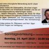 Sonntagsvorlesung am 14.04.2019 – Verwachsungsbeschwerden im Bauch