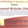 Sonntagsvorlesung am 08. Dezember 2019  –  Bauchwand-Brüche (Hernien)