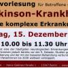 Sonntagsvorlesung am 15. Dezember 2019  –  Parkinson-Krankheit